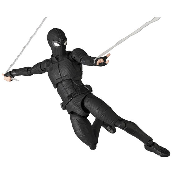 マフェックス No.125 MAFEX SPIDER-MAN Stealth Suit 可動フィギュアが予約開始! 0224hobby-spidy-IM006