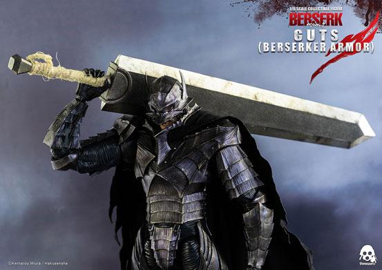 ベルセルク ガッツ(狂戦士の甲冑) threezero 可動フィギュアが予約開始!闇の獣状態のヘッドパーツが付属! 0225hobby-guts-IM006