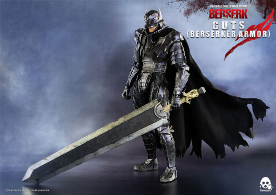 ベルセルク ガッツ(狂戦士の甲冑) threezero 可動フィギュアが予約開始!闇の獣状態のヘッドパーツが付属! 0225hobby-guts-IM007