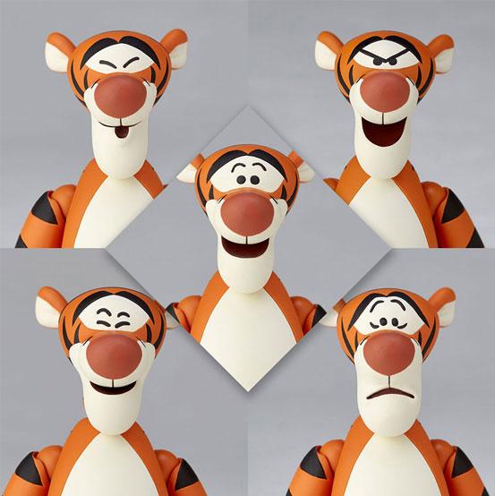 フィギュアコンプレックス MOVIE REVO Series『くまのプーさん』ティガー 可動フィギュアが予約開始! 0313hobby-tiger-IM004