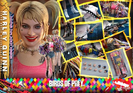 ムービー・マスターピース BIRDS OF PREY ハーレイ・クイン ホットトイズ 可動フィギュアが予約開始! 0317hobby-harley-IM002