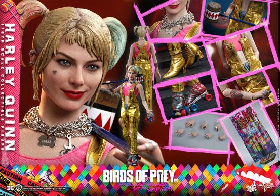ムービー・マスターピース BIRDS OF PREY ハーレイ・クイン ホットトイズ 可動フィギュアが予約開始! 0317hobby-harley-IM004