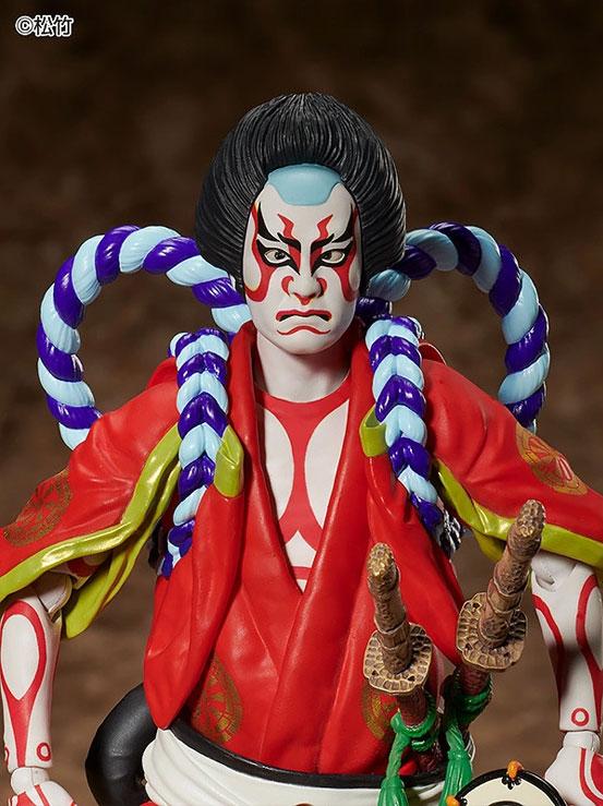 figma 狐忠信『義経千本桜』フリーイング 可動フィギュアが予約開始!鼓や刀パーツなどが付属! 0402hobby-kabuki-IM001