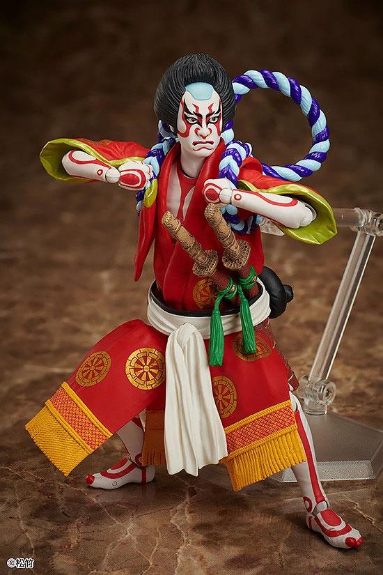 figma 狐忠信『義経千本桜』フリーイング 可動フィギュアが予約開始!鼓や刀パーツなどが付属! 0402hobby-kabuki-IM003