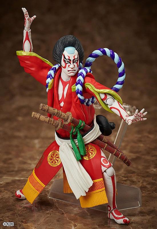 figma 狐忠信『義経千本桜』フリーイング 可動フィギュアが予約開始!鼓や刀パーツなどが付属! 0402hobby-kabuki-IM004