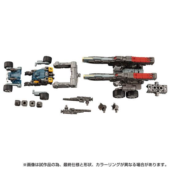 ダイアクロン DA-55 ヴァースライザー2号 タカラトミー 可動フィギュアが予約開始!砲撃戦闘支援マシン! 0408hobby-diaclone-IM003