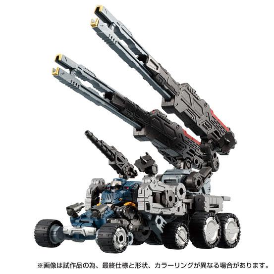 ダイアクロン DA-55 ヴァースライザー2号 タカラトミー 可動フィギュアが予約開始!砲撃戦闘支援マシン! 0408hobby-diaclone-IM005