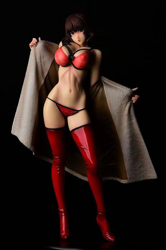 彩/化けの皮 by LINDA Sexy red 一部流通限定版 花畑と美少女 フィギュアが予約開始! 0425hobby-linda-IM005