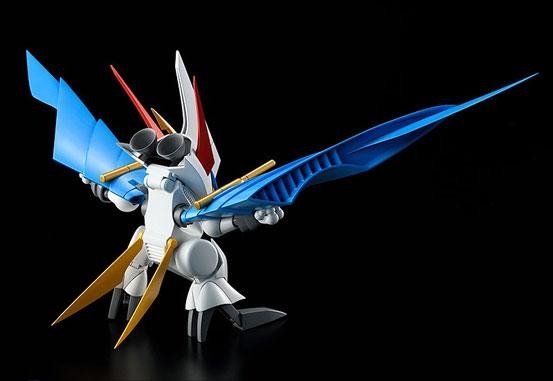 PLAMAX MS-06 魔神英雄伝ワタル 空王丸 プラモデルが予約開始!一部パーツの差し替えで人型と鳥型の変形を再現! 0526hobby-kuou-IM001