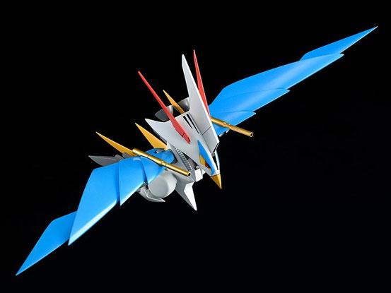 PLAMAX MS-06 魔神英雄伝ワタル 空王丸 プラモデルが予約開始!一部パーツの差し替えで人型と鳥型の変形を再現! 0526hobby-kuou-IM002