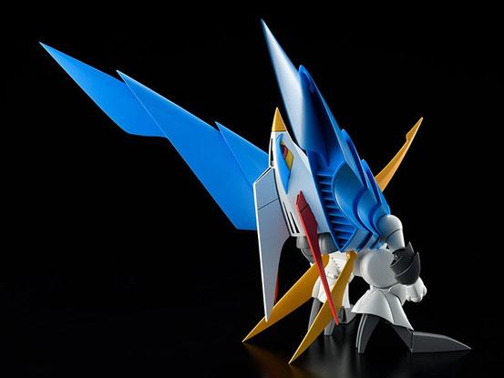 PLAMAX MS-06 魔神英雄伝ワタル 空王丸 プラモデルが予約開始!一部パーツの差し替えで人型と鳥型の変形を再現! 0526hobby-kuou-IM003