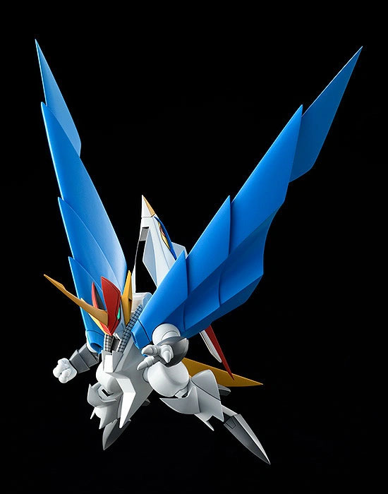 PLAMAX MS-06 魔神英雄伝ワタル 空王丸 プラモデルが予約開始!一部パーツの差し替えで人型と鳥型の変形を再現! 0526hobby-kuou-IM004