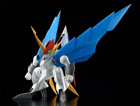 PLAMAX MS-06 魔神英雄伝ワタル 空王丸 プラモデルが予約開始!一部パーツの差し替えで人型と鳥型の変形を再現! 0526hobby-kuou-IM005