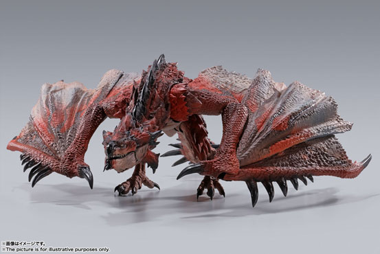 S.H.MonsterArts モンスターハンター ナルガクルガ/リオレウス 可動フィギュアが予約開始! 0529hobby-MH-IM002