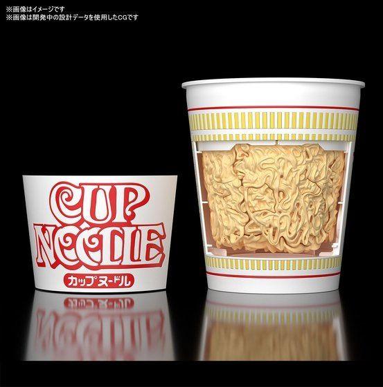 BEST HIT CHRONICLE 1/1 カップヌードル バンダイ プラモデルがプレバンにて予約開始! 0602hobby-cup-IM004