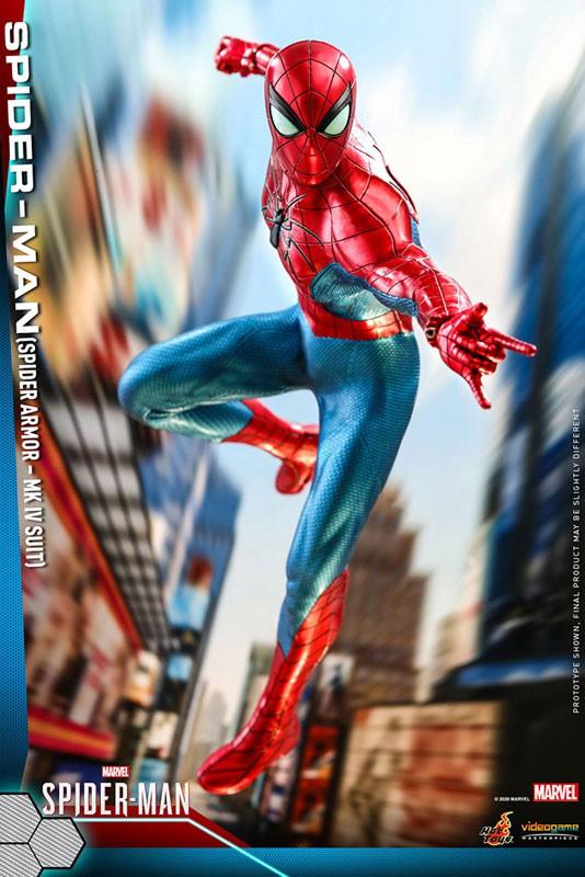 ビデオゲーム・マスターピース Marvel's Spider-Man スパイダーマン(スパイダー・アーマーMK IVスーツ版) 可動フィギュアが予約開始! 0605hobby-spydy-IM001
