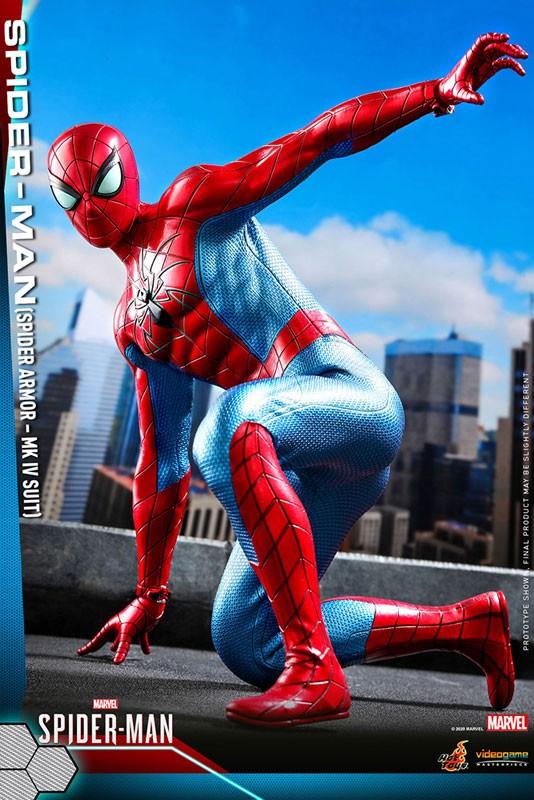 ビデオゲーム・マスターピース Marvel's Spider-Man スパイダーマン(スパイダー・アーマーMK IVスーツ版) 可動フィギュアが予約開始! 0605hobby-spydy-IM002