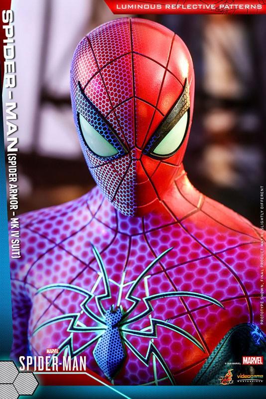 ビデオゲーム・マスターピース Marvel's Spider-Man スパイダーマン(スパイダー・アーマーMK IVスーツ版) 可動フィギュアが予約開始! 0605hobby-spydy-IM003