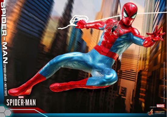 ビデオゲーム・マスターピース Marvel's Spider-Man スパイダーマン(スパイダー・アーマーMK IVスーツ版) 可動フィギュアが予約開始! 0605hobby-spydy-IM004