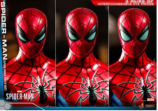 ビデオゲーム・マスターピース Marvel's Spider-Man スパイダーマン(スパイダー・アーマーMK IVスーツ版) 可動フィギュアが予約開始! 0605hobby-spydy-IM005