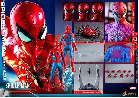 ビデオゲーム・マスターピース Marvel's Spider-Man スパイダーマン(スパイダー・アーマーMK IVスーツ版) 可動フィギュアが予約開始! 0605hobby-spydy-IM006