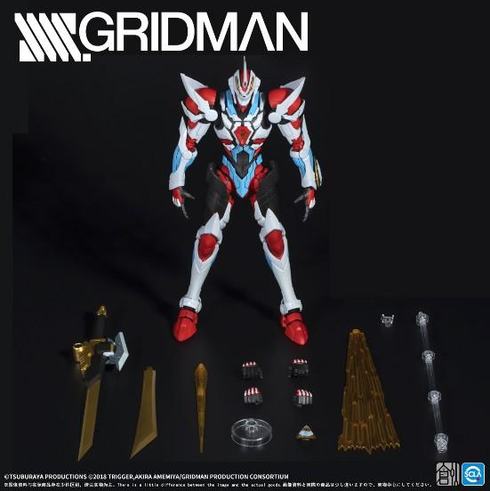 【駿河屋 タイムセール(1/3)】TRON MODEL-KIT TRON-01001 SSSS.GRIDMAN グリッドマン プラモデルが登場! 0608hobby-gridman-IM002