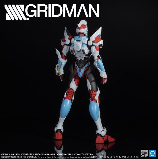 【駿河屋 タイムセール(1/3)】TRON MODEL-KIT TRON-01001 SSSS.GRIDMAN グリッドマン プラモデルが登場! 0608hobby-gridman-IM003