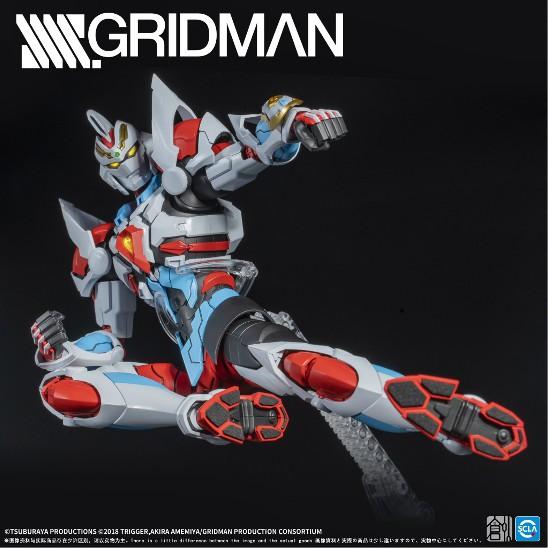 【駿河屋 タイムセール(1/3)】TRON MODEL-KIT TRON-01001 SSSS.GRIDMAN グリッドマン プラモデルが登場! 0608hobby-gridman-IM005