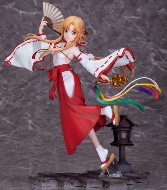【入荷】SAO アリシゼーション War of Underworld アスナ巫女 Ver. 双翼社 フィギュアが登場! 0701hobby-asuna-IM005