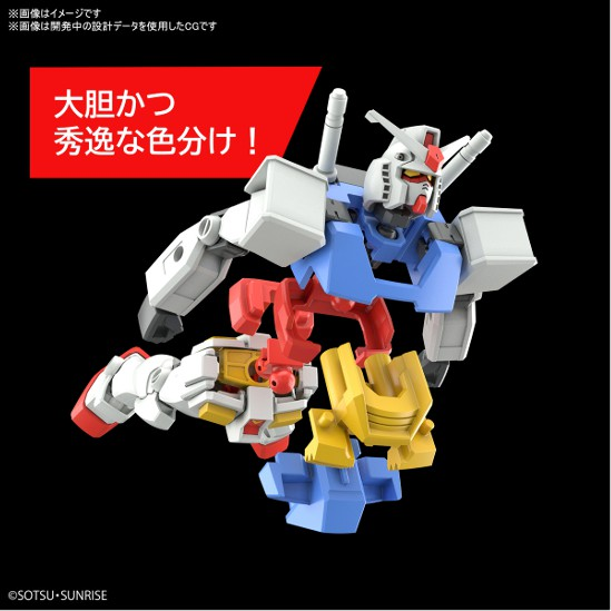 ENTRY GRADE 1/144 RX-78-2 ガンダム バンダイ プラモデルの商品情報を公開! 0702hobby-gundam-IM005