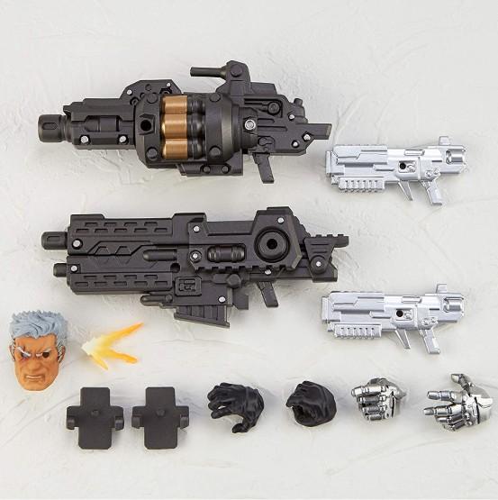 アメイジング・ヤマグチ ケーブル 海洋堂 可動フィギュアが予約開始!付属の銃は変形合体可能! 0710hobby-cable-IM004