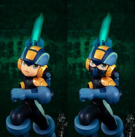 ゲームキャラクターズコレクションDX ロックマン エグゼ ロックマン vs フォルテ メガハウス フィギュアが予約開始! 0806hobby-rockman-IM001