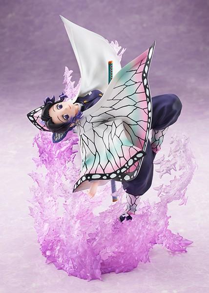 鬼滅の刃 胡蝶しのぶ 1/8スケールフィギュアがANIPLEX+にて予約開始!蝶のエフェクトが優雅で美麗な姿を演出! 0819hobby-kocho-IM004