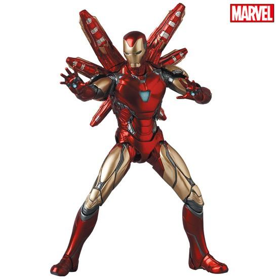 マフェックス No.136 MAFEX IRON MAN MARK85(Endgame Ver.) 可動フィギュアが予約開始! 0824hobby-ironman-IM005