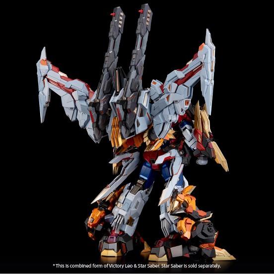 【入荷】[Kuro Kara Kuri(鉄機巧)] Victory Leo Flame Toys 可動フィギュアが登場! 0827hobby-victory-IM001