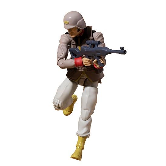 G.M.G. 機動戦士ガンダム 地球連邦軍一般兵士 01/02/03 メガハウス 可動フィギュアが予約開始! 0902hobby-GMG-IM001