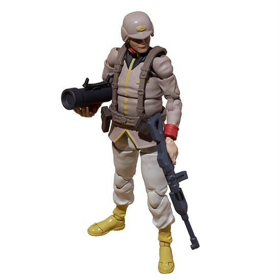 G.M.G. 機動戦士ガンダム 地球連邦軍一般兵士 01/02/03 メガハウス 可動フィギュアが予約開始! 0902hobby-GMG-IM003