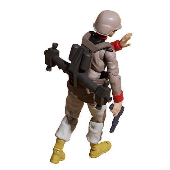 G.M.G. 機動戦士ガンダム 地球連邦軍一般兵士 01/02/03 メガハウス 可動フィギュアが予約開始! 0902hobby-GMG-IM006