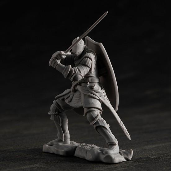ゲームピースコレクション DARK SOULS 上級騎士&混沌の魔女クラーグ メガハウス プラモデルが予約開始! 0902hobby-darksoul-IM003