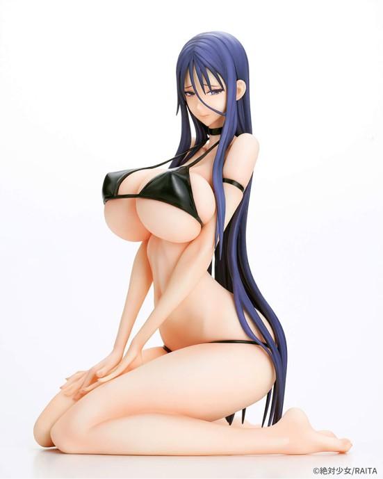 【入荷】魔法少女 ミサ姉 黒ビキニver./白ビキニver. Q-six フィギュアが登場! 0902hobby-misanee-IM001