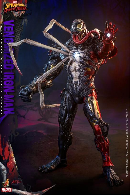 アーティスト・コレクション スパイダーマン:マキシマム・ヴェノム 1/6 フィギュア アイアンマン(ヴェノム版) 可動フィギュアが予約開始! 0916hobby-venom-IM002
