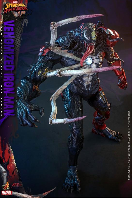 アーティスト・コレクション スパイダーマン:マキシマム・ヴェノム 1/6 フィギュア アイアンマン(ヴェノム版) 可動フィギュアが予約開始! 0916hobby-venom-IM003