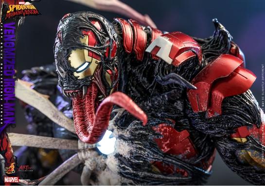 アーティスト・コレクション スパイダーマン:マキシマム・ヴェノム 1/6 フィギュア アイアンマン(ヴェノム版) 可動フィギュアが予約開始! 0916hobby-venom-IM004