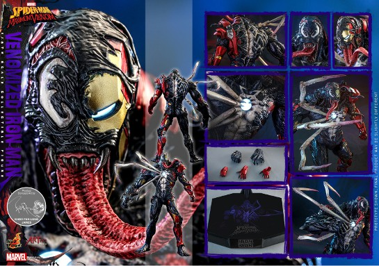 アーティスト・コレクション スパイダーマン:マキシマム・ヴェノム 1/6 フィギュア アイアンマン(ヴェノム版) 可動フィギュアが予約開始! 0916hobby-venom-IM005
