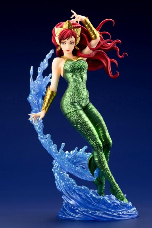 DC COMICS美少女 メラ コトブキヤ フィギュアが予約開始!人魚を思わせるようなポージングで立体化! 0924hobby-mera-IM004