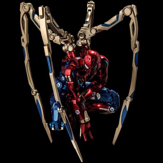 ファイティングアーマー アイアン・スパイダー 千値練 可動フィギュアが予約開始!メカニカルスパイダーアームも付属! 0930hobby-ironspaider-IM003