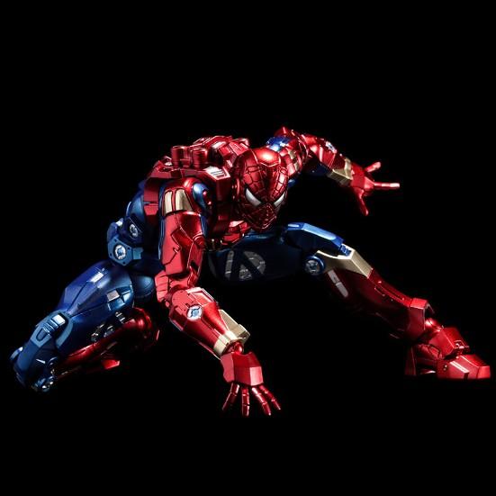 ファイティングアーマー アイアン・スパイダー 千値練 可動フィギュアが予約開始!メカニカルスパイダーアームも付属! 0930hobby-ironspaider-IM005