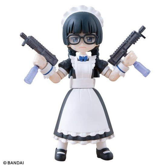 AQUA SHOOTERS!06 (10個入りBOX)/DXメイド長さん バンダイなど4点がプレバンにて予約開始! 1015hobby-AS-IM004