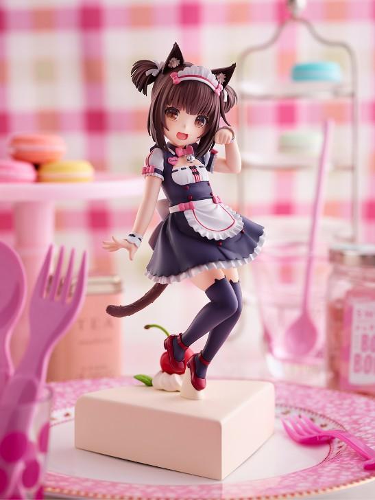 ネコぱら ショコラ 〜Pretty kitty Style〜 プラム フィギュアが登場!バニラ(3月予定)は予約受付中! 1019hobby-nekopara-IM003