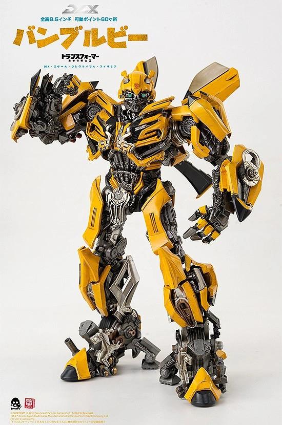 トランスフォーマー/最後の騎士王 DLX バンブルビー threezero 可動フィギュアが予約開始! 1106hobby-Bumblebee-IM001